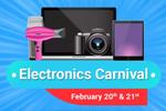 Flipkart Electronics Carnival – 20th to 21st Feb.