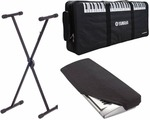 Yamaha PSR I455 Stand, Dust Cover Keyboard Bag