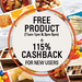 Salebhai- Get products for free by just paying the shipping charge + 115% cashback on 1st purchase
