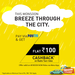 Meru: Rs.100 Cashback on all Radio Taxi Rides via Paytm