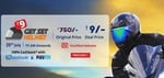 Get Set Helmet for Rs.9 100% Cashback with paytm & Mobikwik