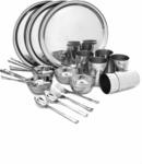 Dinner Set Pack Stainless Steel discount offer