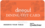 Woohoo - 20% OFF on Dineout E-Gift cards