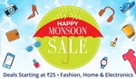 Happy Monson Sale - Deals Starting at Just Rs.25