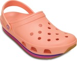 [65% Off] Crocs Men Melon/Vibrant Violet Sports Sandals @1149