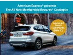 Redeem BMW car using reward points
