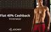 40% cashback on Jockey Innerwear