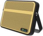 Syska BLADE Portable Bluetooth Mobile/Tablet Speaker (Yellow, Stereo Channel) low price