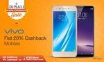 Paytm mall : Flat 20% cashback on Vivo mobile phones
