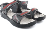 Lotto Men Grey/Red Sports Sandals @224