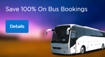 Flat 100% cashback on first bus booking | No Minimum | Max 750 | Valid for all old mobikwik users also