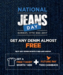 National Jeans Day - Buy any Denim of ₹999 onwards and get Free t-shirts worh ₹499+ ₹500 Cashback  in future pay's wallet @FBB(17th December )