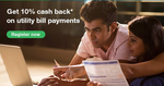 Standard Chartered: Get 10% cash back on your utility bill payments