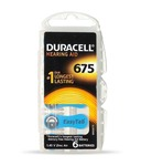 Duracell Easytab Hearing Aid Batteries Size 675 - 6 Pieces