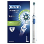 Oral-B Pro 600 Cross Action Electric Rechargeable Toothbrush