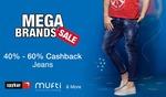 Shirts & Trousers :- Flat 50% off + Extra 40% cashback