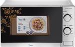 Midea 20 L Solo Microwave Oven  (MMWSL020NEP, Grey) @FLipkart