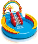 (Hurry only 2 Left) Intex Rainbow Ring Play Center (Multicolor)
