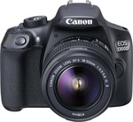 Flipkart : Canon EOS 1300D DSLR Camera Body with Single Lens: EF-S 18-55 IS II (16 GB SD Card)  (Black) for 20990