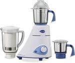 Preethi Blue leaf Platinum select 750 W Mixer Grinder  (White, 3 Jars)