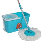 Amazon : Gala 152710 Plastic Popular Spin Mop Set (Sky Blue) for 849