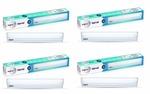 Amazon : Wipro Garnet 5-Watt LED Batten (Pack of 4, Warm White and Golden Yellow) for 679