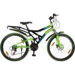 """Hero Sprint 26T Winner 18 Speed Adult Cycle - Black & Green (18"""" Frame)"""