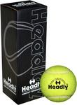 Headly Light Cricket Tennis Ball  (Pack of 3, Yellow)