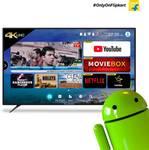 Paytm mall : CloudWalker 139 cm (55) CLOUD TV 55SU Ultra HD Smart LED TV