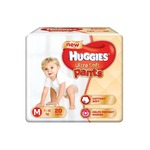 Huggies Ultra Soft Pants Medium Size Premium Diapers (20 Counts)