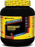 MuscleBlaze Weight Gainer with Added DigeZyme Weight Gainers/Mass Gainers(1 kg, Chocolate)
