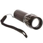 LOWEST   EKRON Zoomable Mode Bicycle Headlight Led Flashlight High Tech Ultra Glow Lite, Black