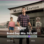 Flat 10% Cashback upto Rs.100 on purchase of Roadster brand on Myntra using PhonePe (wallet or Credit Card/ Debit Card/ UPI)