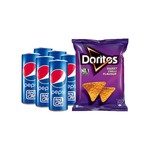 Pepsi Can + Doritos 60% off