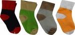 Pack of 4 baby socks @49