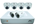 Godrej Security Solutions 1 MP 720P Full CCTV Camera Kit
