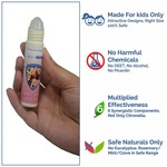 Safe-O-Kid Mosquito Repellent Fabric Roll On with 6 Mosquito Patches
