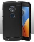 Back Case Cover for Motorola Moto G6 5.7 inch (2018) - Black
