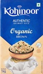 Amazon : Kohinoor Organic Basmati Brown Rice, 1 Kg