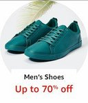 men's shoes upto 75% off