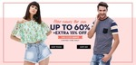 Koovs : Upto 60% + extra 15% off on fashion.