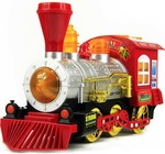 Toyshine Bubble Engine Toy with Music, Lights, Real Bubble Action