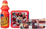 Marvel Spider Man back to School stationery combo set, 499, Multicolor