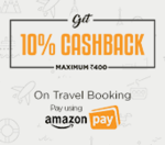 Flat 10% off on flight booking