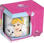 Disney Princess Ceramic Coffee Mug Set, 250ml, Set of 3, Multicolour