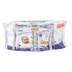 Himalaya Herbals Gentle Baby Wipes (72 Sheets) with Free 12 Sheets