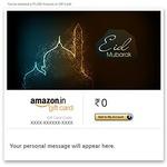 Amazon 5% upto 150 on email gift cards