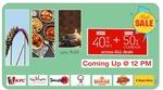 LittleApp : 40% off + Extra 50% cashback across all deals ( Extended till 10 PM )