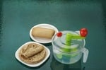 Amiraj 2-in-1 Dough Maker, Transparent/Green