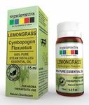 Organix Mantra Lemongrass Essential Oil, 100% Steam Distilled Natural, Pure And Organic (15Ml)